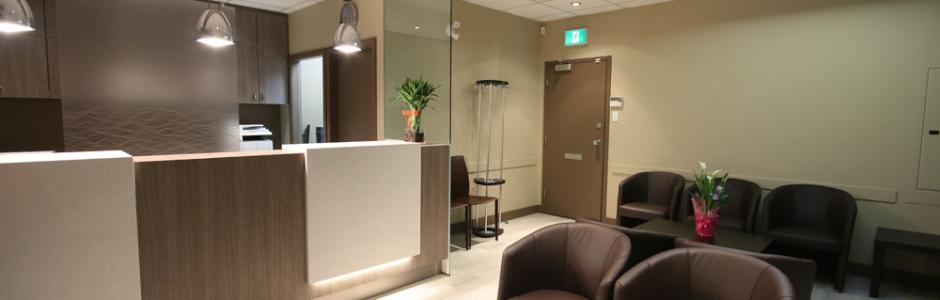 Clear dental office