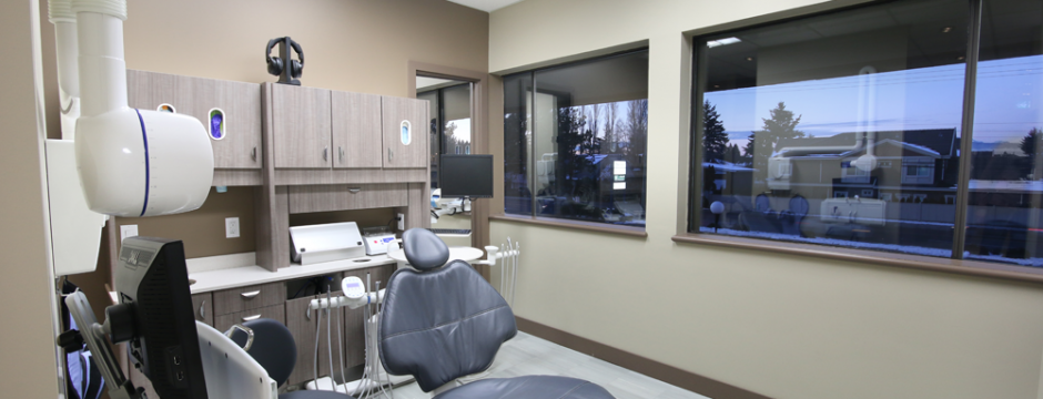 Clear dental office